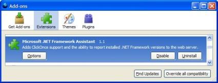 Microsoft .NET Framework Assistant 1.1