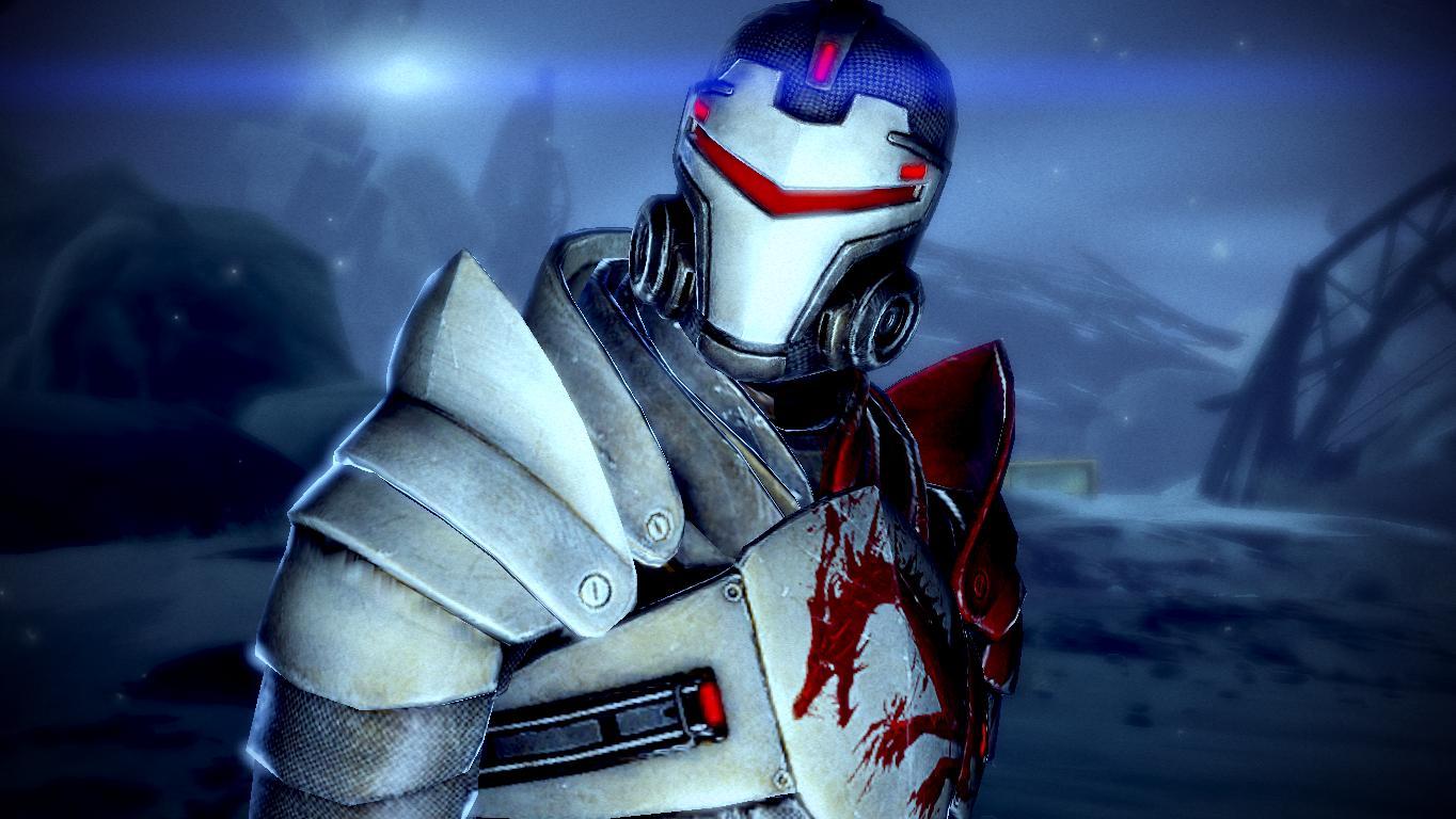 Chris Valentine. Mass-effect-2-blood-dragon-armor